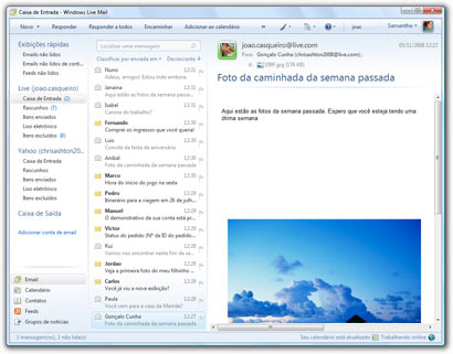 Windows Live Mail – O sucessor do Outlook Express. Acesse seu