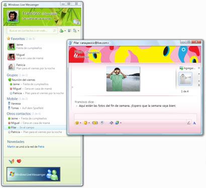 windows plus messenger gratis: