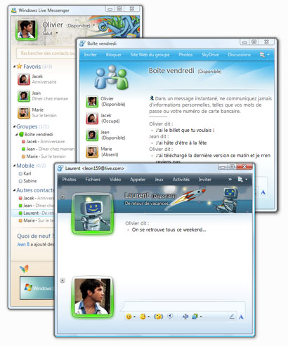 windows messenger 2009 clubic