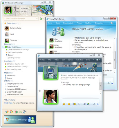Windows Live Messenger 14.0.8089.0726 portable