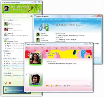 Descarga la ultima version de Windows Live Messenger