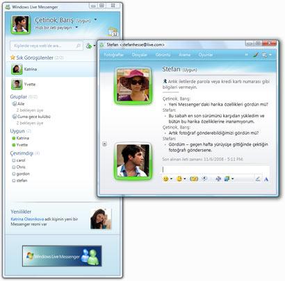 Windows Live Messenger 2009 Türkçe Çıktı!!