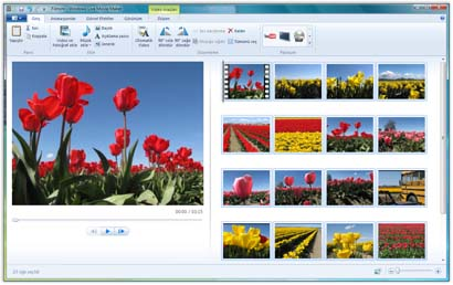 Not: Windows Live Movie Maker, Windows XP ve Windows'un daha
